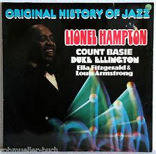 "12"" Vinyl ORIGINAL HISTORY OF JAZZ - Lionel Hampton, Count Basie u.a. - 2LP"