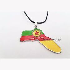 Kurdistan Necklace with Kurdistan map