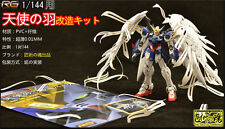 Wing Feather Upgrade part for Bandai RG XXXG-00 Wing Fighter Zero Custom Gundam