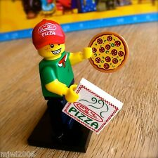 LEGO 71007 Minifigures PIZZA DELIVERY MAN #11 Series 12 SEALED Minifigs Guy Teen
