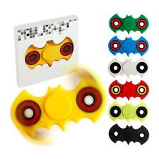 Bat Shaped Fidget Spinner Hand Toy Desk Focus, 6 Colors to Choose *NEW* FREE S&H
