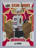 2019-20 Credentials Star of the Night ROOKIE Kirby Dach Chicago Blackhawks