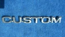 1980 Ford F Series CUSTOM Script Very Nice Original FOMOCO Nice Used