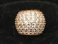 Pandora ROSE Charm 781051CZ Pavé Lights Ball  S925 ALE R