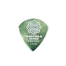 Master 8 Japan INFINIX-U Grip Guitar Jazz XL Pick - 1.2mm Heavy 6-Pack