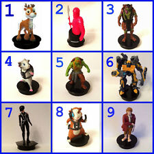 Cup topper figures