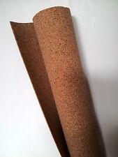 "Cork Sheet: 1/8x24""x36"" 3mmx610mmx915mm Tasma railway underlay scenery roll."