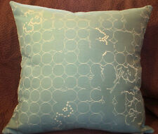 Maharam VINEYARD Aqua  Modern Mid Century Contemporary Pillow