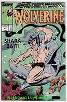 MARVEL COMICS PRESENTS #41, NM+, Wolverine, X-men, John Buscema, Shark