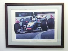 David Coulthard Limited Edition Print By Gavin Macleod