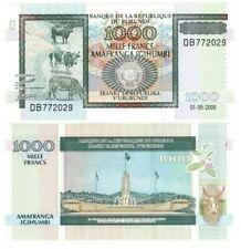 Burundi 1000 Francs (2009) P-39e Unc Banknote Paper Money
