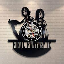 Final Fantasy Game lp Retro Vinyl Record Wall Clock Vintage Gift For gamer