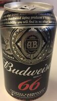 RARE EMPTY  CAN BUDWEISER BEER    FROM PARAGUAY
