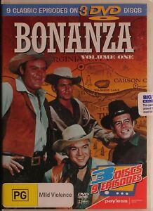 Bonanza DVD - Volume One - NEW SEALED - Free Post