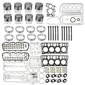 08-10 6.4L Ford Powerstroke Diesel Motor Überholung Set MAHLE 489-1033 (3531)