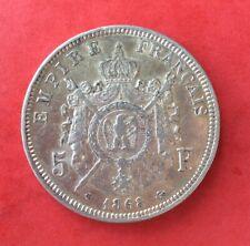 France - Napoléon III - Très Jolie monnaie de 5 Francs 1868 BB (2)