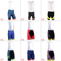 Men's Cycling Bib Shorts 3D Pad Man Riding Bicycle Team Tights Man Short Pants