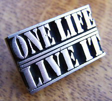 ONE LIFE LIVE IT - 4x4 Land Rover Car Off Road Offroad Badge FREE UK POST