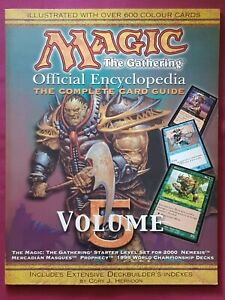 Magic The Gathering OFFICIAL ENCYCLOPEDIA VOLUME 5 Complete Card Guide MTG