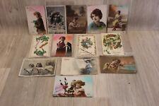 Lot de 13 cartes postales - Bonne Année 53