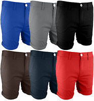 Mens Chino Shorts Cotton Half Pant Cargo Combat Summer Casual Jeans New 30-40