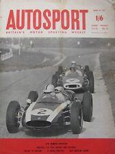 AUTOSPORT magazine 14/4/1961 Vol.22, No.15