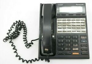 Panasonic KX-T7230 XDP Black Digital Display Phone  NaS