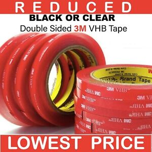 3M™ VHB™ Double Sided Tape Strong Heavy Duty Acrylic Sticky Pads Tape Car Auto