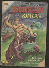Tarzan Korak #224 Comic Spanish Mexican Novaro 1969
