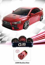 MST MS-01D RTR 4WD Electric RC Drift Car- EVO X(Red)+10.5T BrushlessMotor