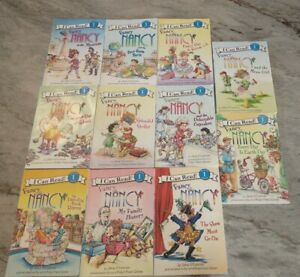 FANCY NANCY I CAN READ Book Lot 12 - Scholastic Reading Level 1 Set