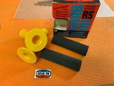 NOS Vintage Yamaha YZ Grab On Grips - Yellow