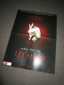 Let Me In/Let The Right One In poster