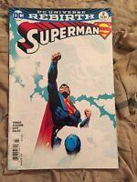 Superman #2 Rebirth $3.99 Newsstand Variant Hard To Find [DC, 2016]
