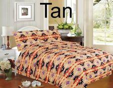 Southwest Design Tan 4 piece Comforter Set King Size,.