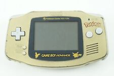 Nintendo Gameboy Advance Pokemon Center New York Gold Console GBA From Japan