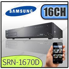 16CH Samsung SRN-1670D 16 Canales NVR CCTV Digital Video Recorder DVR de red