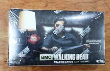 AMC THE WALKING DEAD SEASON 3, PART 2, TRADING CARDS HOBBY BOX, NIB (CRYPTOZOIC)