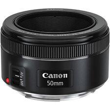 Canon EF 50mm f/1.8 STM Standard Autofocus Lens for Canon DSLR Cameras NEW