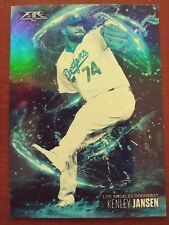 2018 Topps Fire Flame Throwers Blue Chip #FT-6 Kenley Jansen Los Angeles Dodgers
