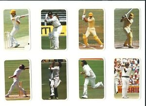 Ardmona 1979/80 Series II Cricket Cards Select Cards from Dropdown List