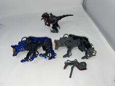 lot of 3 zoids wolf and donasauer