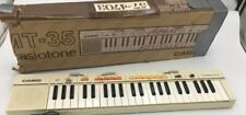 Casio Mt-35 Casiotone Vintage Electronic Keyboard Tested Works Great