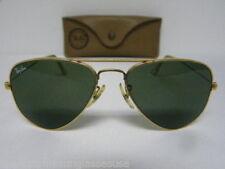 Vintage B&L Ray Ban Small Classic Large Metal Arista Gold L0207 52mm USA