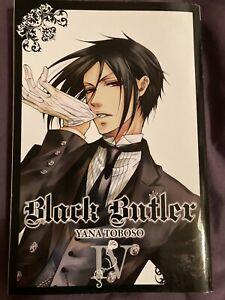Black Butler Volume 4 (Used)