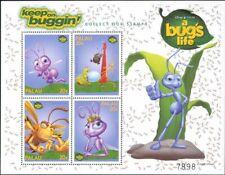 "Palau 1998 ""Bug's Life""/Disney/Films/Cinema/Animation/Insects 4v sht (b798y)"