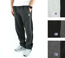 Champion Men's Jogger Sweatpants Fleece Active Athleticwear Gym Pant Side Stripe