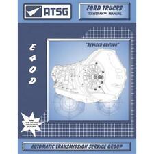 ATSG Ford E4OD E40D Transmission Rebuild Instruction Service Tech Manual