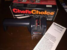 Chef's Choice Diamond Knife Sharpener - Model 450