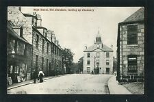 More details for aberdeen - high street old aberdeen the chanonry p/u 1907